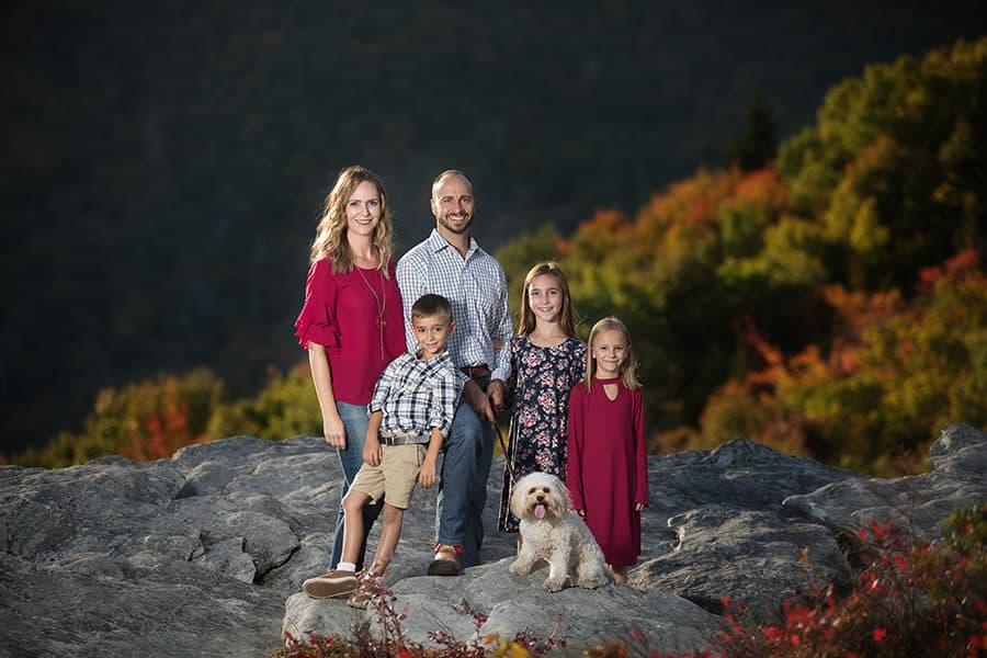 Blowing Rock Family Portrait Photographer