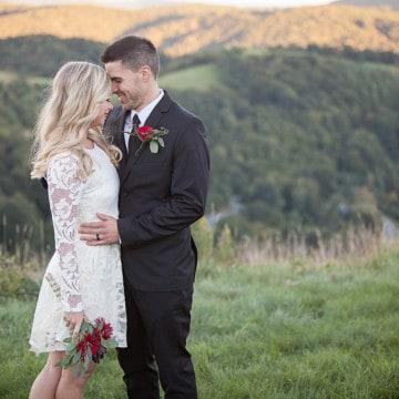 Banner Elk Winery Wedding Photographer