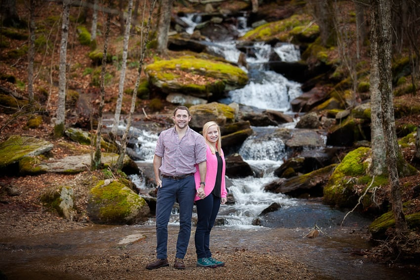 Beech Mountain Engagement Session
