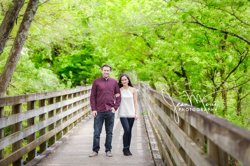 Abingdon VA Engagement Photographer Creeper Trail