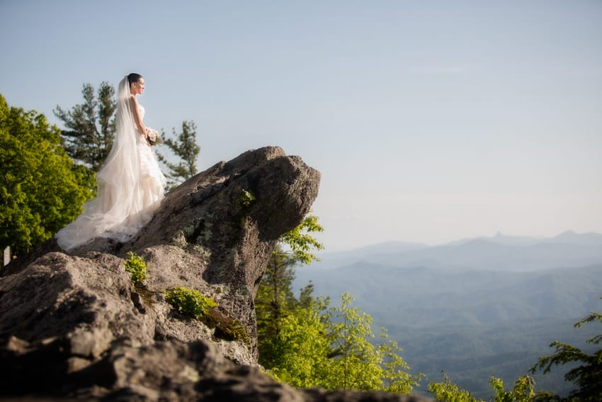 The Blowing Rock wedding