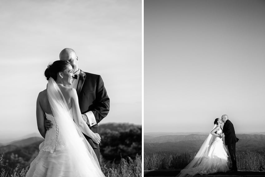wedding photographer blowing rock, nc