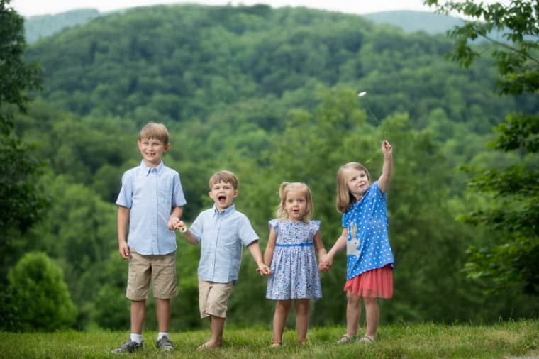 Boone photographer family portraits