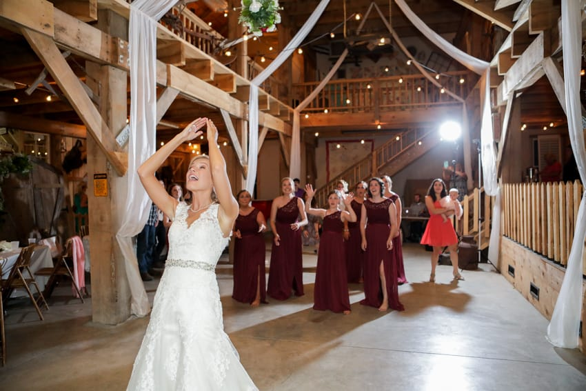 Beck Mountain Barn Wedding Elizabethton TN