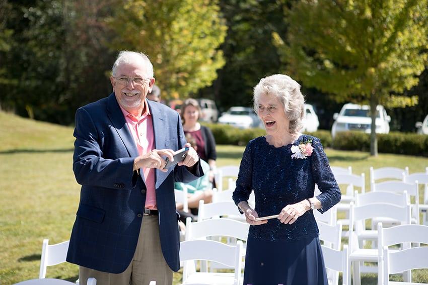 Banner Elk Winery wedding