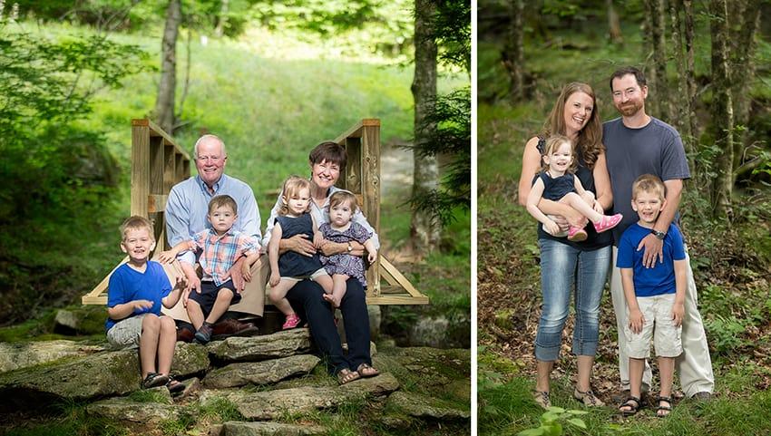 Beech Mountain family portraits