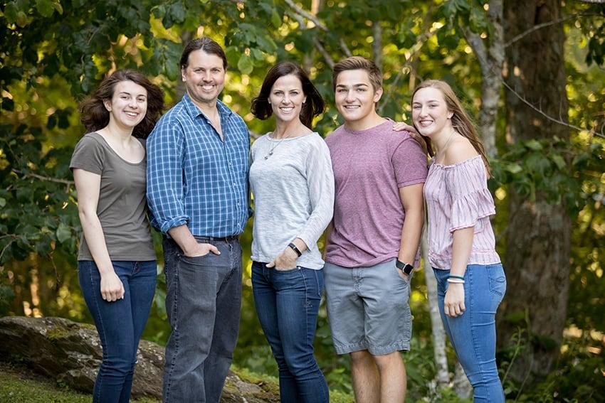 Banner Elk, NC family portraits