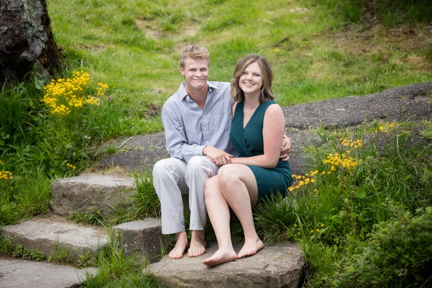 Surprise Proposal Blowing Rock