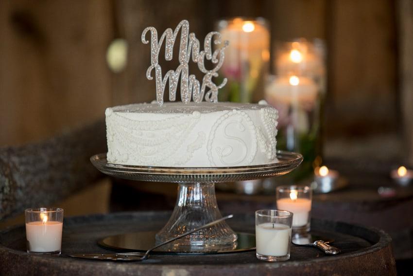 Wedding Cake Banner Elk Elopement