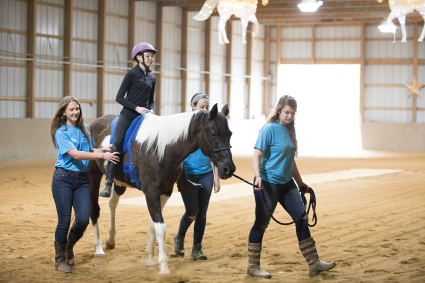 Spirit Ride Fundraiser at Rising Star Equestrian Center in Boone, NC