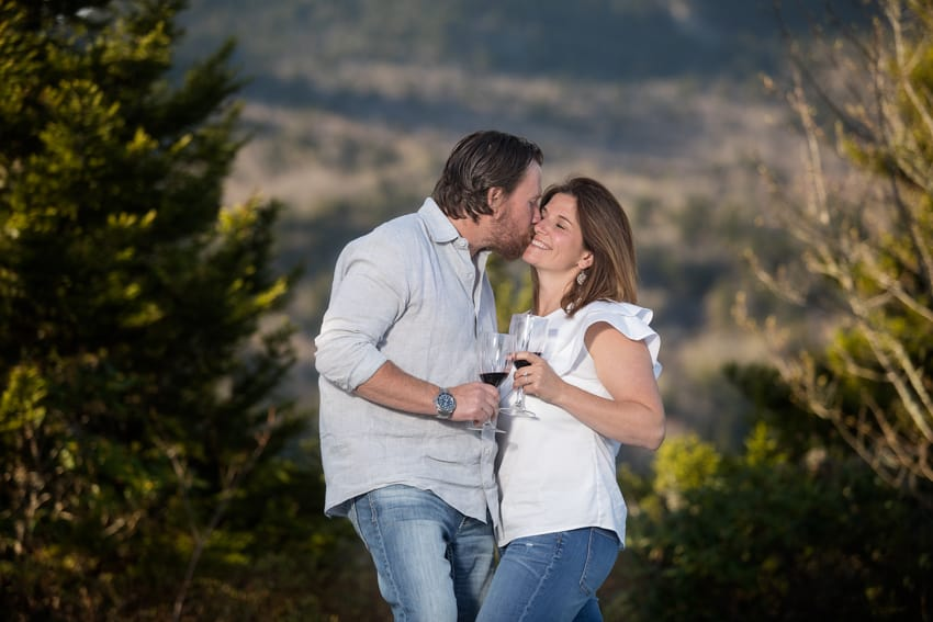 Linville NC engagement session