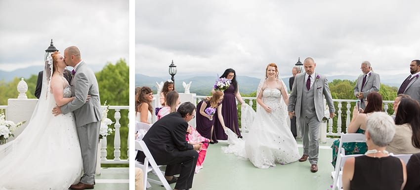Wedding at Smithmore Castle in Spruce Pine