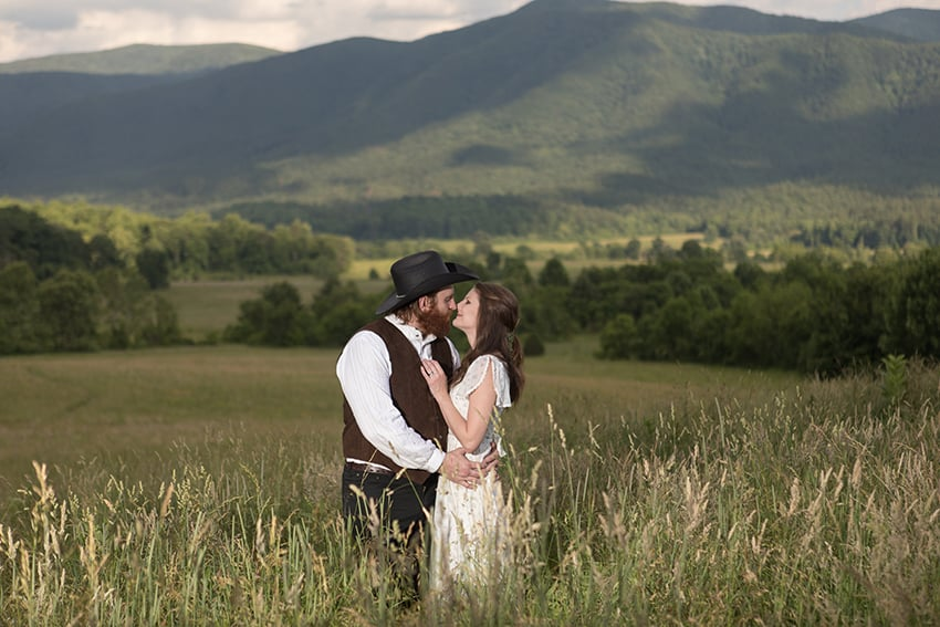 Elopement in Cades Cove