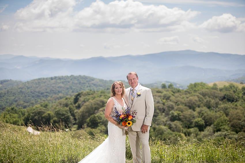 Mountain elopement Banner Elk NC