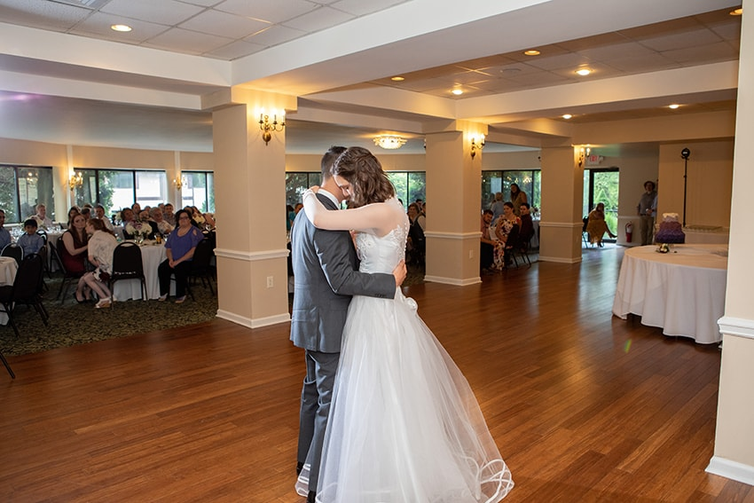 First dance at Meadowbrook Inn Blowing Rock NC
