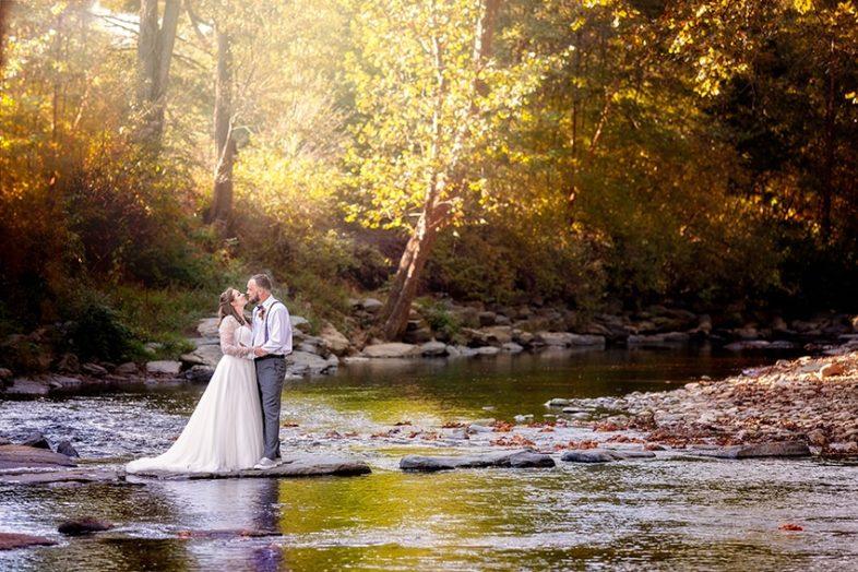 Valle Crucis intimate wedding North Carolina