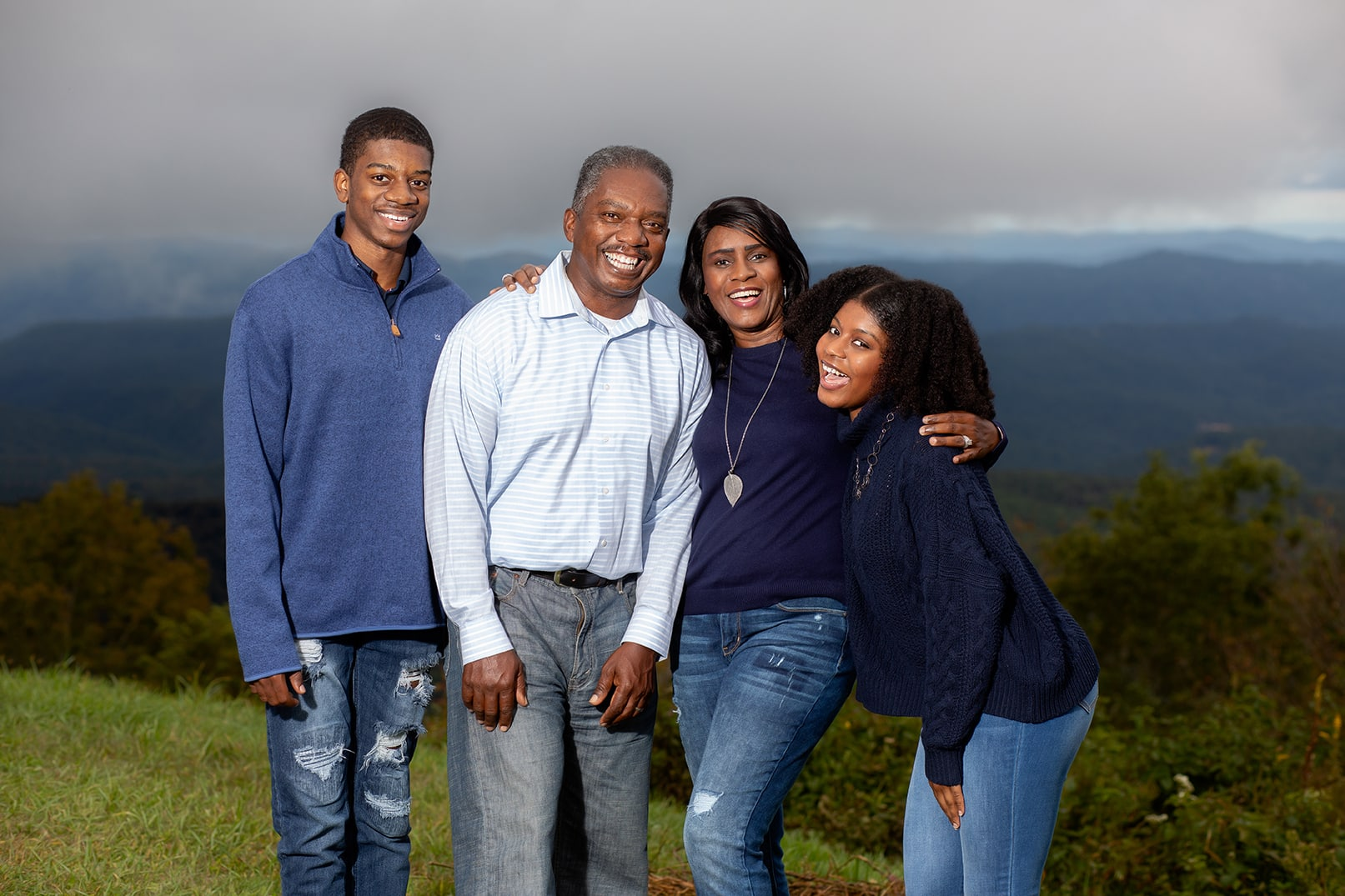 blowing rock family portraits blue ridge parkway