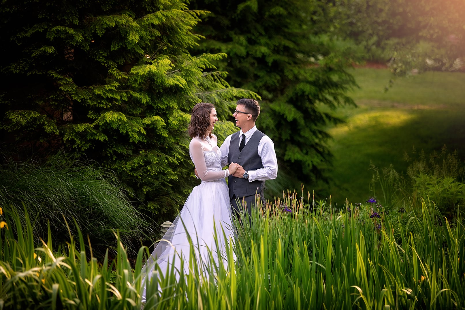 wedding photography blowing rock nc
