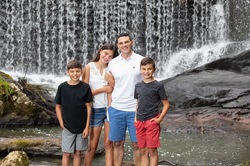 Family vacation portraits banner elk nc