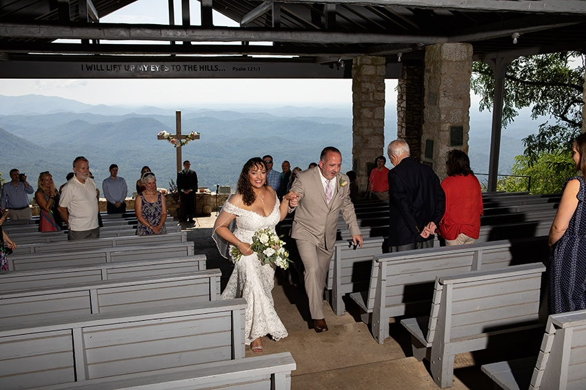 Wedding at Pretty Place Chapel