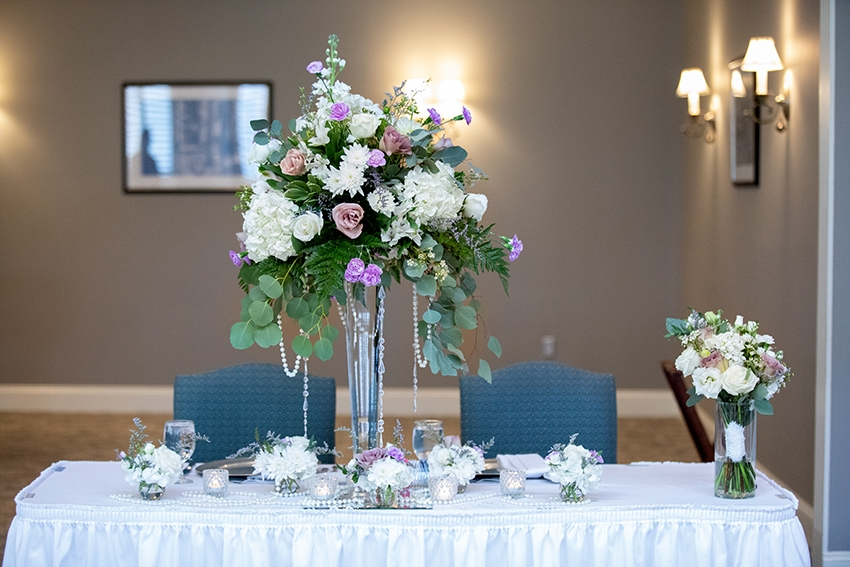 Wedding reception at Kenmure Country Club