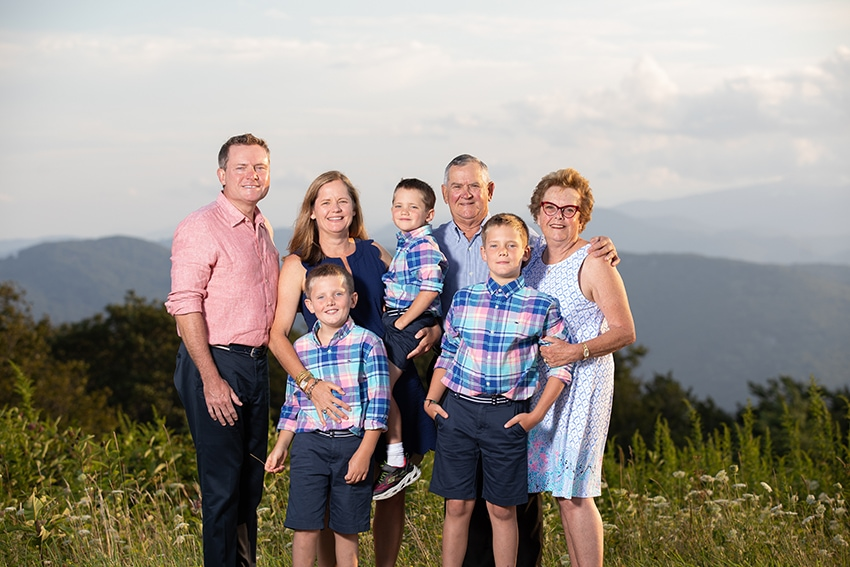 beech mountain family portraits