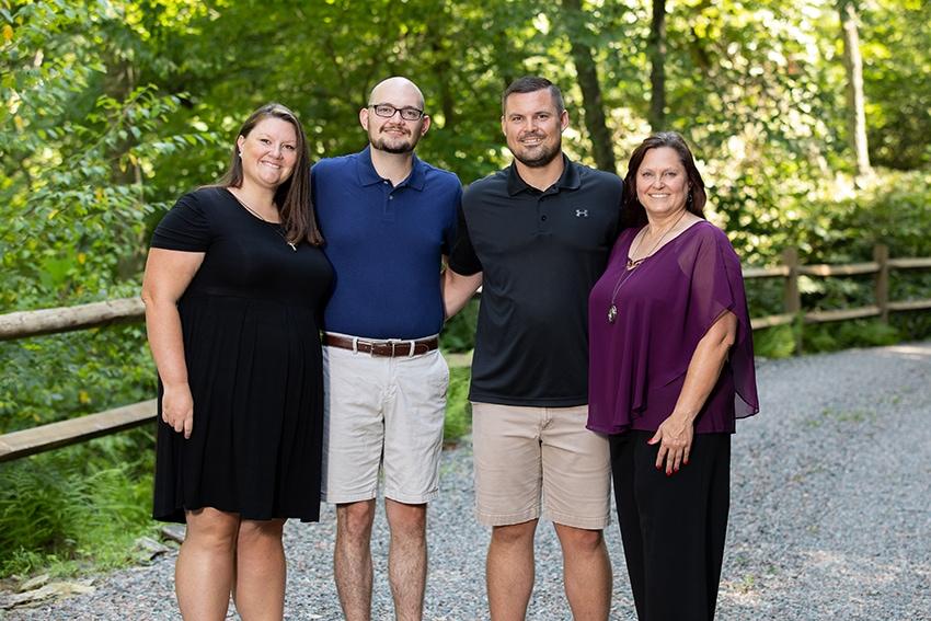 valle crucis family portrait photographer