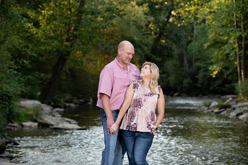 valle crucis portrait photography river 2