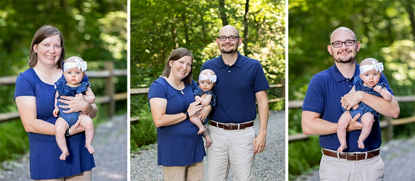 valle crucis vacation family portraits